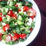 feta-cheese-basil-salad